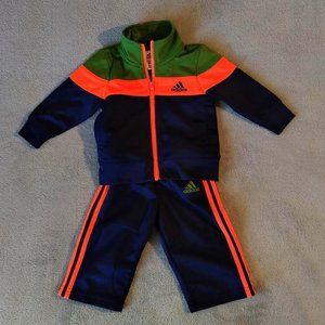 Adidas * Two Piece Track Suit, Worn Once